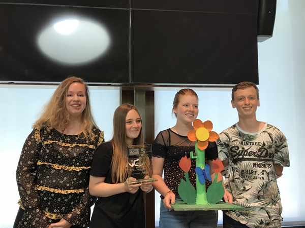 Winnaars energieobject Carmel College